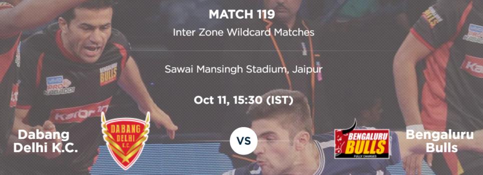 PKL5 Match 119 preview: Dabang Delhi v Bengaluru Bulls
